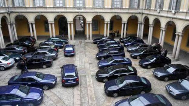 auto blu, Consiglio dei ministri, decreto, tagli, Sicilia, Economia