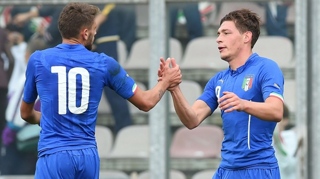 amichevole, azzurri, Calcio, nazionale, under21, Andrea Belotti, Trapani, Sport