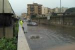 Piogge a Palermo, allagamenti da via Messina Marine a Mondello