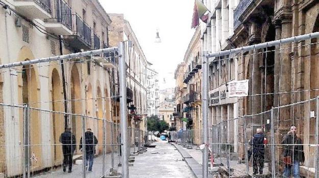 corso vittorio emanuele, lavori, Caltanissetta, Cronaca