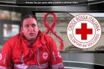 I fiocchi rossi della Croce Rossa a Nicosia per la lotta all'Aids - Video