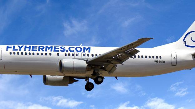 disservizi, enac, Hermes Aviation. sospensione voli, Palermo, Economia