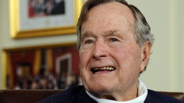 ospedale, presidente stati uniti, prognosi, George Bush, Sicilia, Mondo