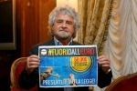 """L'attacco di Grillo a Napolitano: """"Dimettersi? Dovrebbe costituirsi"""""""