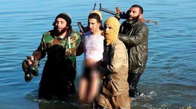 esercito islamico, Isis, jihadisti, pilota giordano catturato, Muadh Kassasbe, Sicilia, Mondo