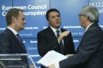 """Ue, via al piano Juncker, Renzi: """"Ci sarà maggiore flessibilità"""""""