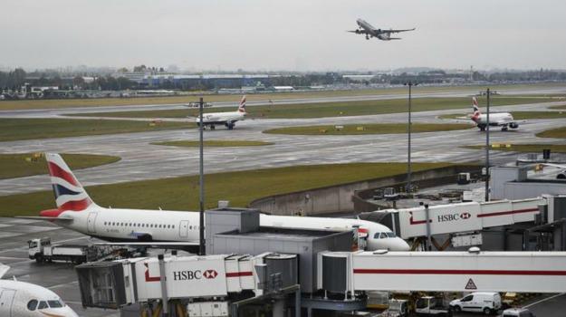 aeroporti, disagi, londra, Sicilia, Mondo