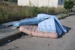 Dal centro al mare, a Palermo materassi abbandonati per ogni stagione