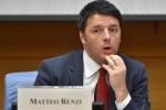 Renzi: giusto licenziare dalla Pubblica amministrazione chi ruba e gli assenteisti