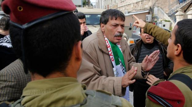esercito israeliano, ministro palestinese, scontri, Ziad Abu Ein, Sicilia, Mondo