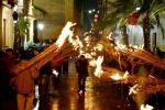 """Calatafimi, processione e fiaccole per l'""""Mmaculatedda"""""""