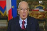 Le dimissioni di Napolitano: il suo ultimo discorso da presidente