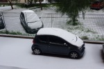 In Sicilia un capodanno sotto la neve, strade chiuse e treni fermi. Ecco le foto e i video