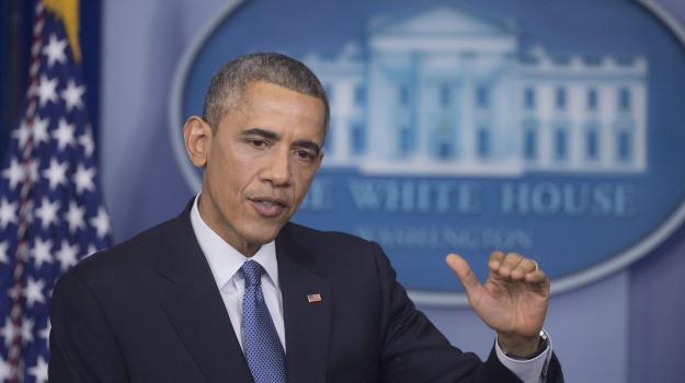 casa bianca, polizia, Barack Obama, Sicilia, Mondo