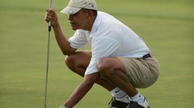 campo da golf, matrimonio, presidente stati uniti, Barack Obama, Sicilia, Mondo