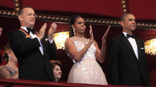 attori, cantanti, casa bianca, comici, premio, spettacolo, Barack Obama, Sting, Tom Hanks, Sicilia, Mondo