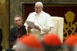 """Messaggio ai vescovi: """"Ecco le 15 malattie della Curia"""""""