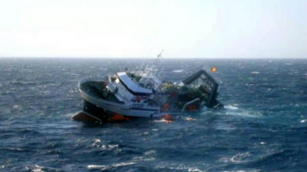 Maltempo, peschereccio affondato, Russia, Sicilia, Mondo