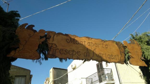 montaperto, natale, presepe vivente, solidarietà, Agrigento, Cultura