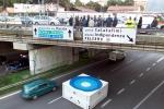 Formazione, protesta in viale Regione: traffico in tilt fino a mezzanotte