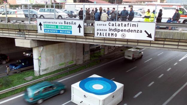 formazione, lavoratori, protesta, TRAFFICO, Palermo, Cronaca