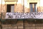 Senza stipendio da 8 mesi: protestano i lavoratori del Consorzio di bonifica di Gela - Video