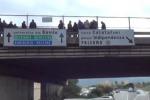Minacciano di buttarsi da ponte: a Palermo caos in viale Regione