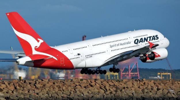 australia, Qantas, voli, Sicilia, Mondo