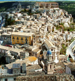 San Giorgio e la scalinata a Ibla