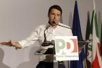 """Pd, Renzi: """"Ulivo? Persi 20 anni. Non staremo fermi per i diktat della minoranza"""""""