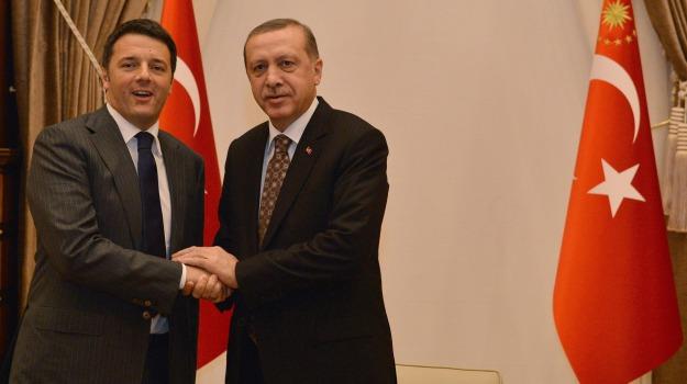 investimenti, premier, riforme, turchi, Matteo Renzi, Sicilia, Politica