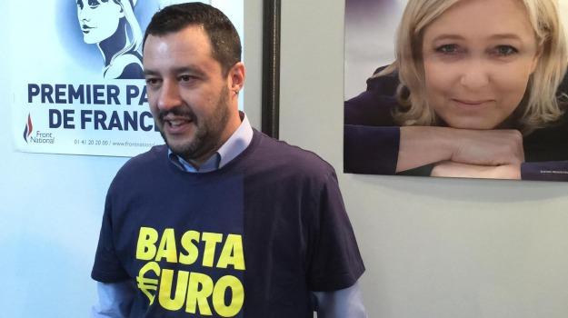 Crisi, Grecia, Lega Nord, Matteo Salvini, Sicilia, Politica