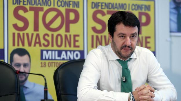 carroccio, Lega, Matteo Salvini, Palermo, Politica
