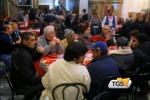 Pranzo di Natale ai poveri offerto da comunità di Sant'Egidio