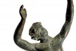 Un piccolo satiro danzante al museo archeologico di Marsala