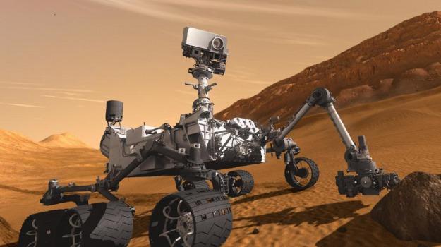 Curiosity, Marte sonda, spazio, Sicilia, Società
