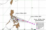 Il tifone Ruby rallenta, probabile impatto domani: in migliaia in fuga