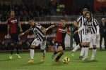 Cagliari ko, la Juve chiude in testa il 2014