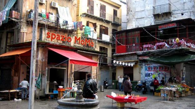 Palermo, rapina vucciria, Palermo, Cronaca