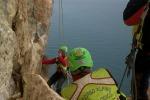 """Un altro masso crolla da Monte Pellegrino: """"Zona ad alto rischio"""""""