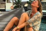 Alessia Marcuzzi, sposa sexy alle Maldive: in posa per il marito, regala nuovi scatti ai fan - Foto