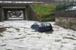 Forti piogge a Catania: via Etnea allagata, voli dirottati - Video