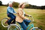 """""""Sempre giovani"""" gli anziani in bici: tutti i benefici psicofisici"""
