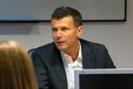 L'assessore all'Economia Alessandro Baccei