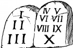 Dieci comandamenti, spuntano anche quelli per gli atei