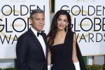 George Clooney e Amal, sposi sul red carpet: il loro debutto ai Golden Globe - Foto