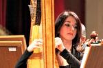 Concerto di sola arpa a Palermo, sul palco c'è Giorgia Panasci