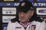 Palermo-Cagliari, Iachini: partita da non sottovalutare, serve attenzione