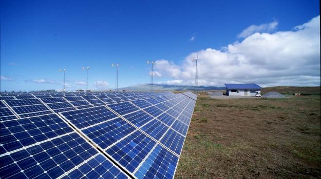 impianto, solare, Sicilia, Società