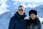 """Le montagne austriache fanno da sfondo a """"Spectre"""": ecco le prime foto dal set del nuovo film di James Bond"""